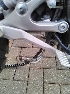 YAHAHA R6R 2008 2014 REARSETS DRIVERS AND PASSANGER FOOT PEGS Windsor Region Ontario image 2