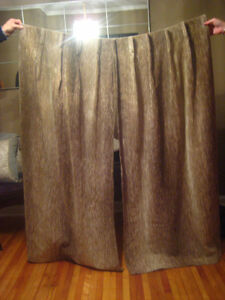 REDUCED PRICE ----Pleated Curtains-STRATHROY London Ontario image 1
