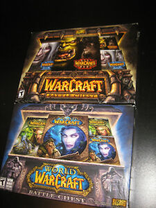 Warcraft 3 and World of Warcraft Battle Chests Kitchener / Waterloo Kitchener Area image 1