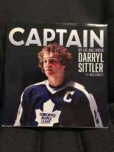 AUTOGRAPHED BOOK BY DARRYL SITTLER