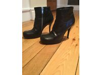 Rick Owens Ankle Boots Size UK 6