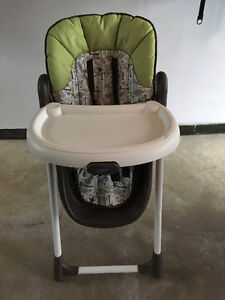 Chaise haute Graco Zoofari - High chair Graco Zoofari