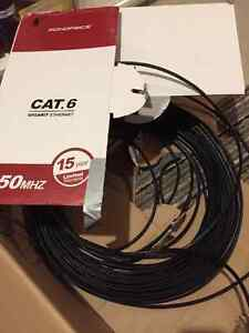 Cat 6 and Cat 5e cables