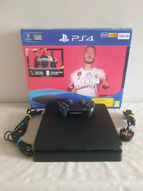 PS4 SLIM Brand new Console+Genuine Wireless Pad+Games 🎮 Downloaded