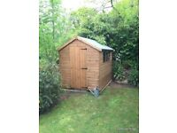 8ft x 6ft Tongue and groove apex sheds - we also make bespoke Garden builds see pics