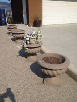 $2 to 65 . Planters, pots, rakes, shovels , weed picker
