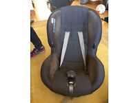 Baby car seat,3 car seats and mamas and papas pushchair with matching footmuff