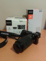 Sony Alpha a6000 with 16-50mm and 55-210mm