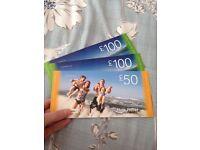 £250 Hays Travel vouchers