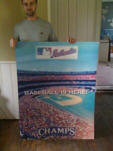 Baseball Champ 3D picture poster HUGE Moving lenticular London Ontario image 6