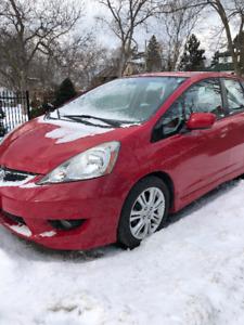 Honda Fit Sport Sedan 2010 **Reduced! ** $6300 Low Mileage!