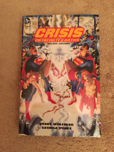 CRISIS ON INFINITE EARTHS DELUXE HARDCOVER EDITION