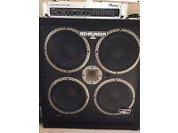 Behringer Ultrabass BB410 + BVP5500