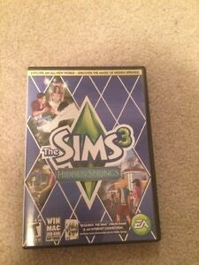 PC sims hidden springs, sims 3 pets and sims 3 main