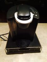 Keurig with K-cup tray for sale