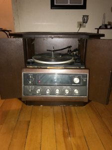 Record Player/A Track Combo