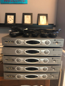 Two Source Cable Box PVR's and 2 Regular Cable Boxes