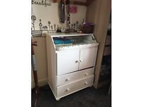 IKEA changing table chest of drawers