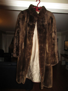 Manteau de fourrure en Castor