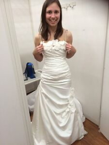 Wedding dress, ivory, size 0