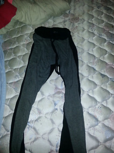 Four different pants for sale $5 each all small sizes.