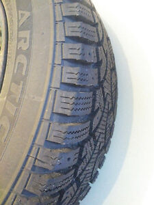Winter tires on steel rims Kitchener / Waterloo Kitchener Area image 3
