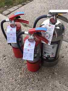 Lot of fire extinguishers Regina Regina Area image 1