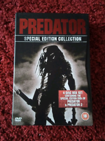 Predator Special Edition 1 and 2 dvd