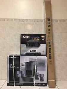 """Ikon 4K projector, 72"""" automated digital screen & home theatre"""