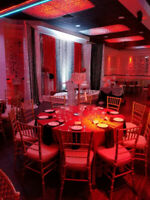 Party hall/ banquet hall for 25-200 guests. Starts $19.99/person