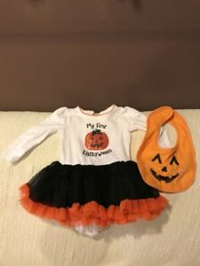 Costume halloween fille 6-9 mois