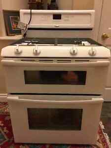 Whirlpool Gold 30-inch Double Oven Freestanding Gas Range