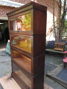 antique barrister bookcases 2, 3 and 4 levels sections Oakville / Halton Region Toronto (GTA) image 3
