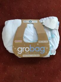 Official Grobag 3.5 tog 0-6 months - never used