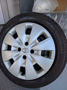Michelin X-Ice Tires x4 - Balanced and in Excellent Condition!!