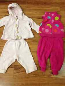 Lot Clothes for Girls 3 months and 3-6 months 3 mois & 3-6 mois Gatineau Ottawa / Gatineau Area image 4