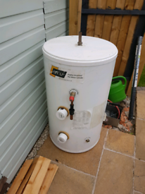 120 litre stainless steel unvented hot water cylinder