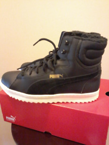 New Puma women winter Sneakers, Size 9