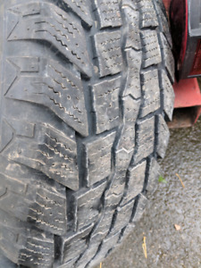 245/70/17 winter tires and GM 6 boldt rims