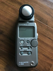 Sekonic L-358 Flash Master