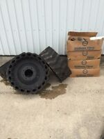 Air boss tires for skidsteer