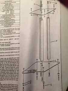 Speaker Stands - Solid Steel 13 inch  - New (Still In Box) Peterborough Peterborough Area image 1
