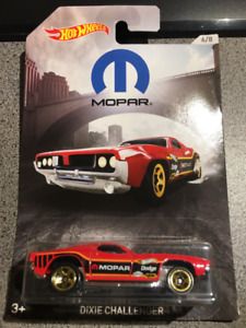 Hot Wheels Mopar Dixie Dodge Challenger