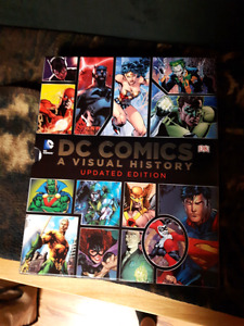 A book about the history of all dc comics from 1930-present