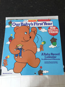 """Meadowbrook Press """"Our Baby's First Year"""" Calendar"""