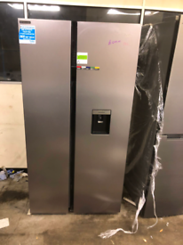 BRAND NEW BEKO AMERICAN STYLE DOUBLE DOOR FRIDGE FREEZER