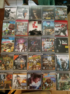 Playstation 3 games (all complete)