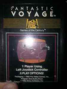 Rare Atari 2600 Fantastic Voyage by 20th Century Fox