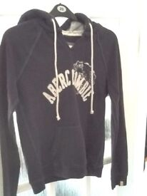Abercrombie & Fitch navy Hoody size XL