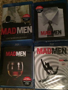 Mad Men Seasons 1-4 Blu-ray (New, Unopened)
